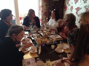 Madge's caff...1st ever Afternoon Tea