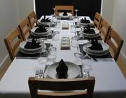 Niraj's Kitchen Table Setting
