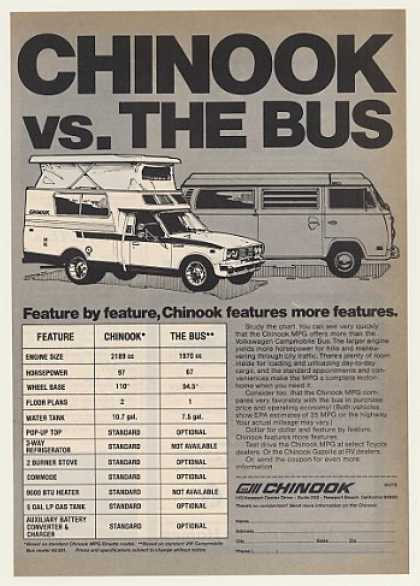 Chinook vs. The Bus