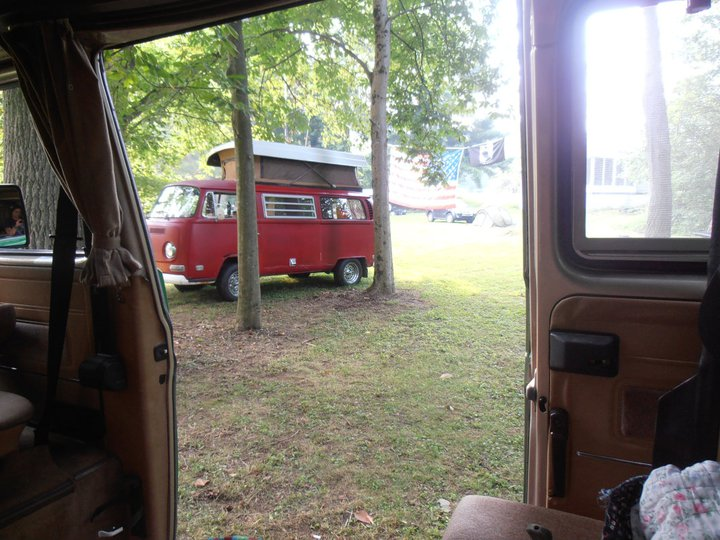 View from my Vanagon
