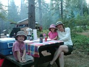 Camping at Malakoff Diggins