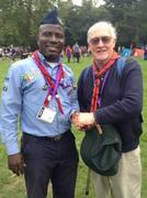 Philip Soneye and grandson of Baden-Powell, Michael Baden-Powell