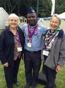 Joan Baden-Powell, Myself and Baden-Powell granddaughter Gill Clay