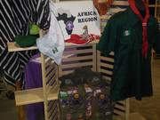 African stand at Scout Fair