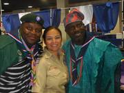Olusoga Chief Scout of Nigeria, a friend  and Philip Soneye