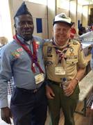 At 2015 Wood badge reunion at Gilwell Park UK