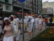 Caminhada em Curitiba - Lançamento do FPRMA