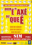 """Campanha do Censo realizada em Camaçari: Quem é de Axé diz que é!"""""""