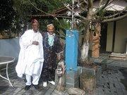 Visita do Prof. Toyin Falola da universidade de Ile Ifé