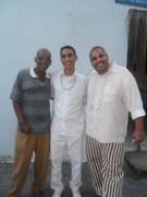 Ogan Nei, fabio, e Oluodé Vinicius no Ase Ibualamo SIre de Iroko 2011
