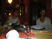 jantando no Jocotoka.