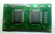 Antigo LCD 1602 com chip Hitachi
