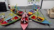 Montagem de barcos radio controlados