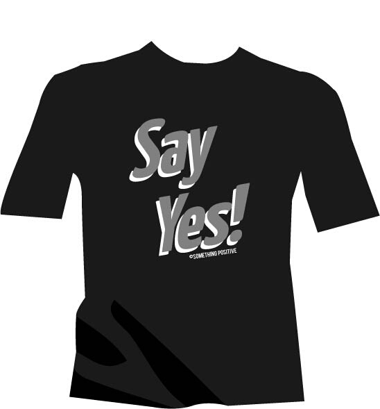 Say Yes t-shirt Raiders color