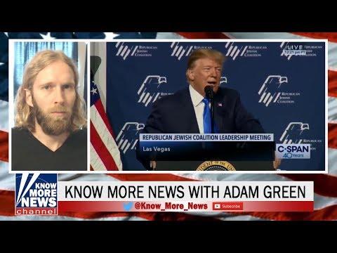 Trump Panders to His Base at the Republican Jewish Coalition