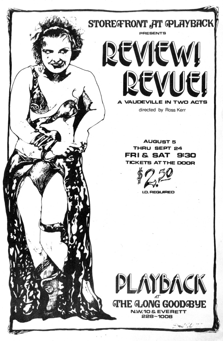 Review! Revue! Poster, 1977