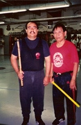 Me with Grand Master Cacoy Canete at IMB academy.