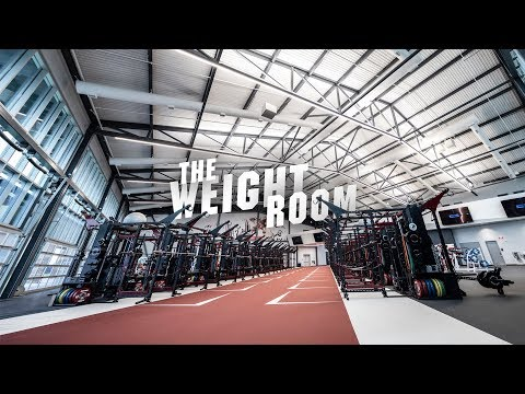 South Caroline Football Weight Room