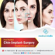 Low Cost Chin Implant Surgery in India - Medcureindia
