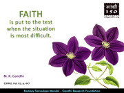Thought For The Day ( FAITH )