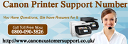 Canon Printer Toll Free Number UK