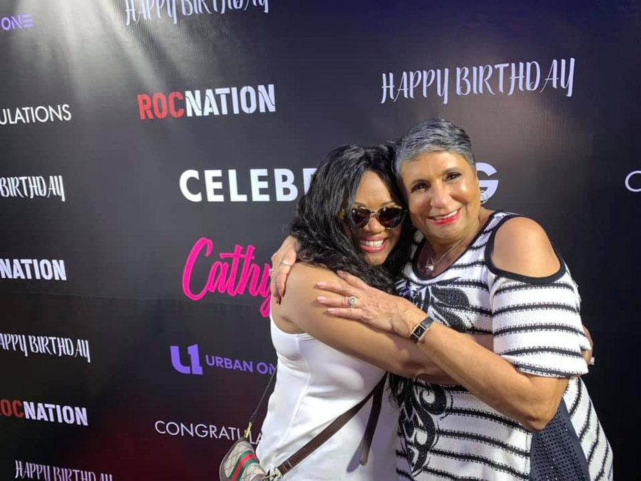 Sherry Gordy and Cathy Hughes