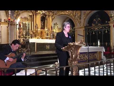 Nada te turbe.  Poema de Santa Teresa de Jesús.  Recita Maria Teresa Rodriguez Cabrera