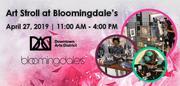 Art Stroll at Bloomingdale's