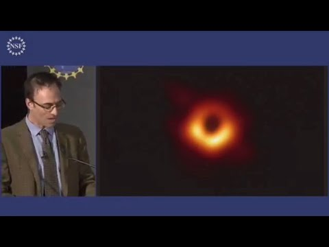 Scientists reveal first photo of a black hole