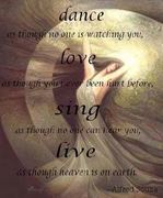 Dance - Love - sing - live