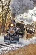 Huckleberry Railroad #152 last day of 2018 season