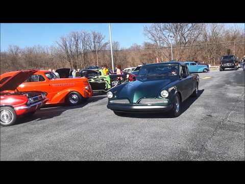 Some Muscle Rumbles Into the Capital City Cruisers April 2019 Cruise