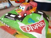 cars taart divaio