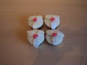 cup cakes kerstblad