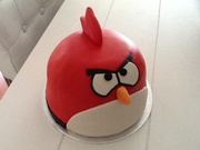 Angry Bird taartje