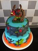 Skylanders taart
