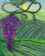 Prophetic Message Sketch 18 Vineyard Infinity Trinity - Anne Cameron Cutri