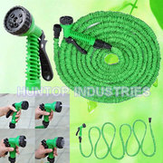 Expandable garden hose producer Huntop China, flexible garden water pipe, Magical Garden Expandable Hose, collapsible hose