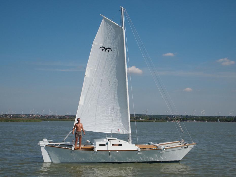 Aotea sailing 2