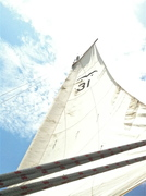 First time the sails have been unfurled in over 4 years -- too long!
