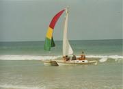 Last sail, March 2002