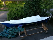 Finished with one hull