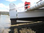 Simpson Woodwind 9.1 Wharram tiki 30 rig and rudders
