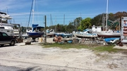 in the boat yard