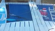 forward deck and gangplank