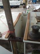 Main mast step