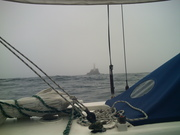 Fastnet in the gloom