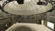 A wide angle of the IAIA Digital Dome