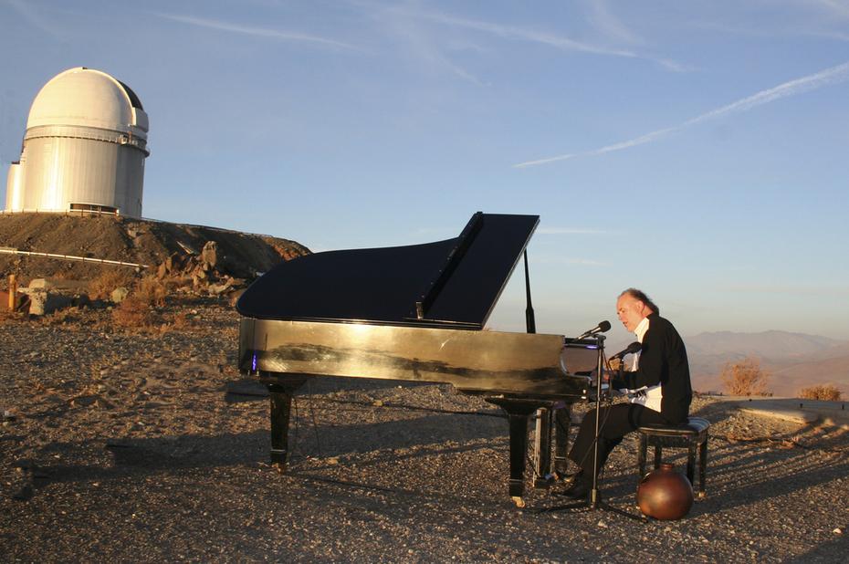 piano concert La silla obsevatory Chile