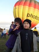 Balloon Over Waikaton 2010